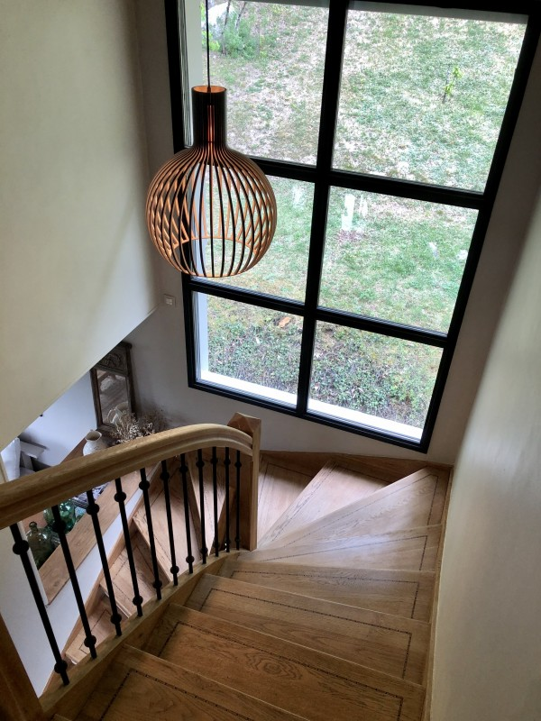 Annecy Luxury Rental Villa Bowanite Stairs