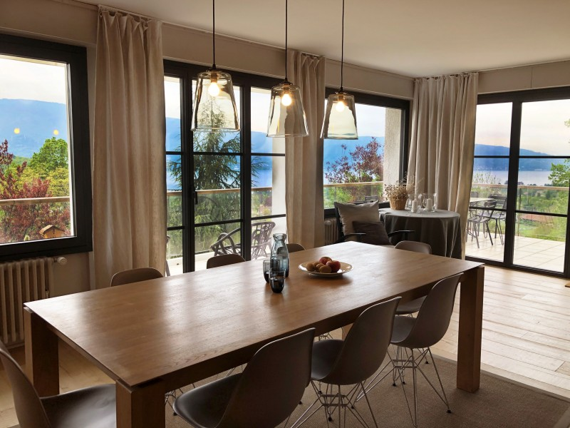 Annecy Luxury Rental Villa Bowanite Dining Room