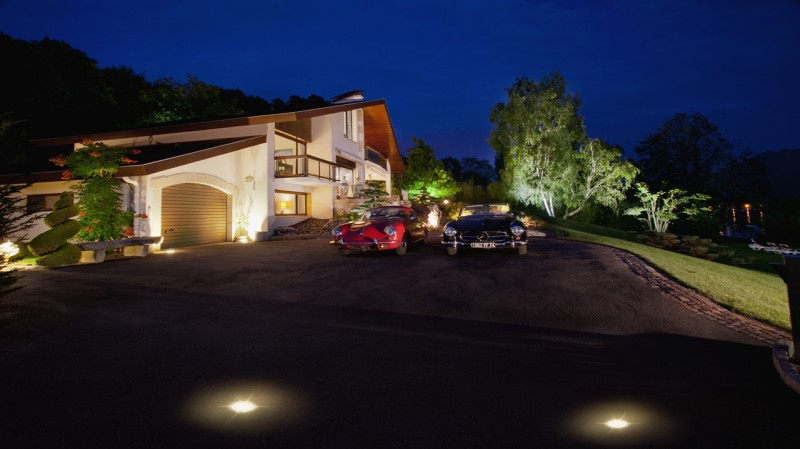 Annecy Luxury Rental Villa Pierre de Fee Parking