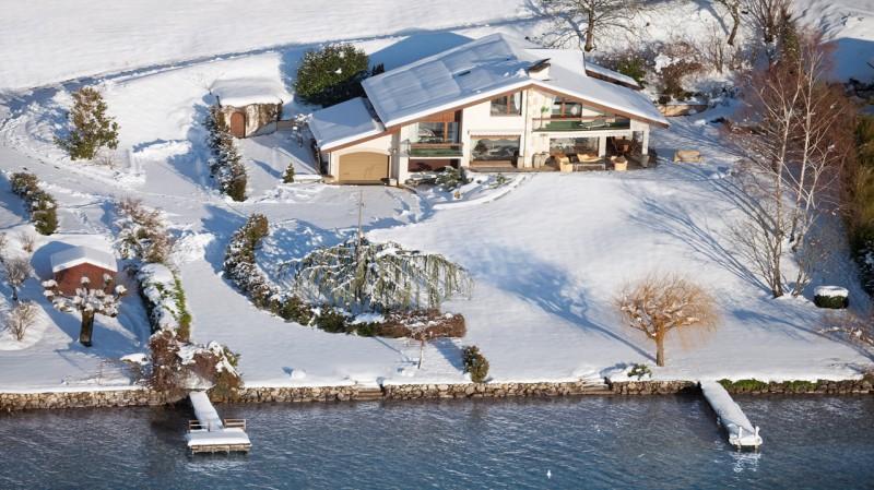 Annecy Luxury Rental Villa Pierre de Fee View Snow