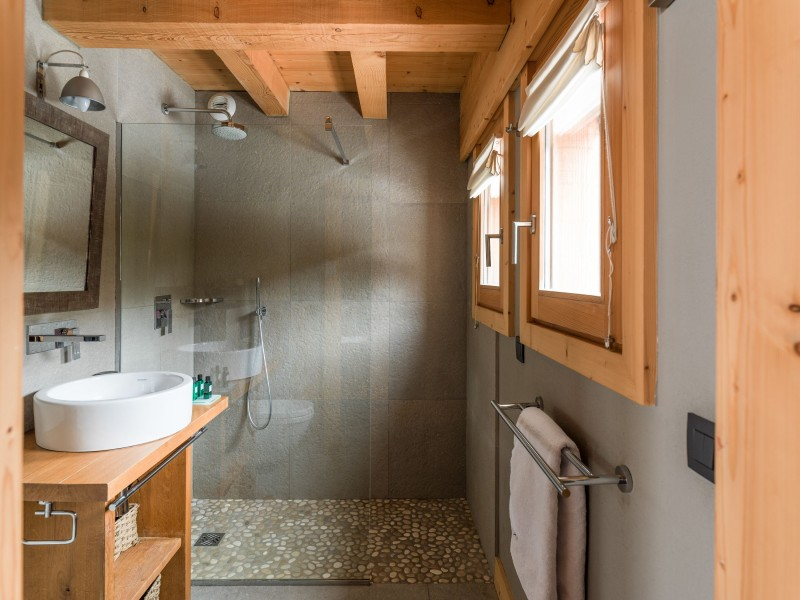 Argentière Location Chalet Luxe Calcite Master Sdb
