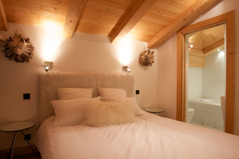 Argentière Location Chalet Luxe Cancrinite Chambre 2
