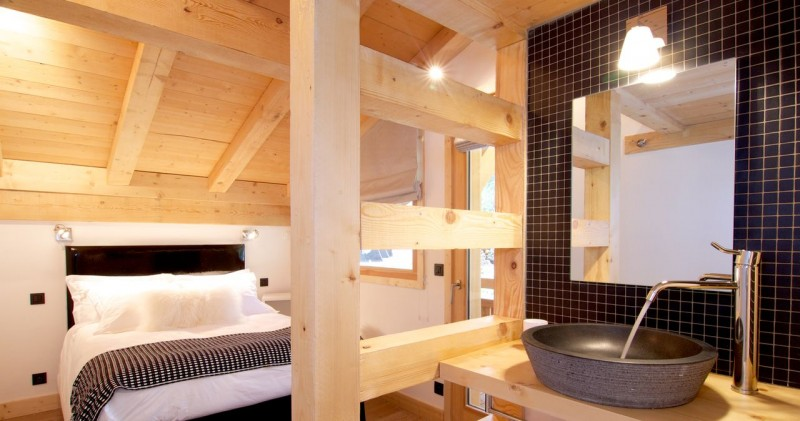 Argentière Location Chalet Luxe Cancrinite Chambre 3
