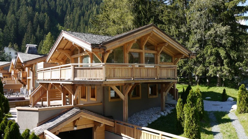Chamonix Luxury Rental Chalet Cancrinite Exterior