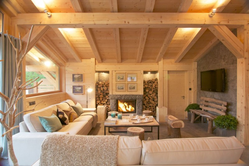 Chamonix Luxury Rental Chalet Cancrinite Living Area 3