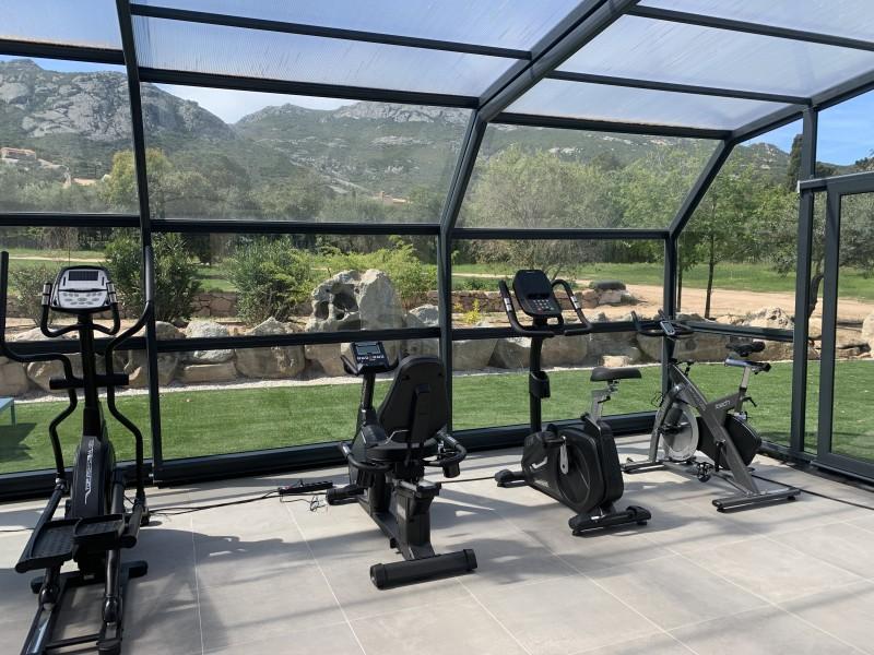 Calvi Location Villa Luxe Curry Fitness