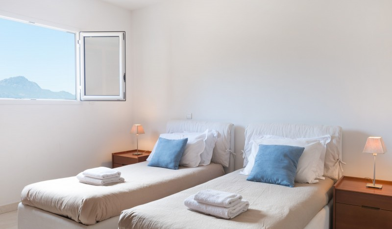 Calvi Location Villa Luxe Diademe Chambre 3