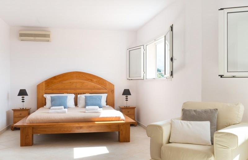 Calvi Location Villa Luxe Diademe Chambre