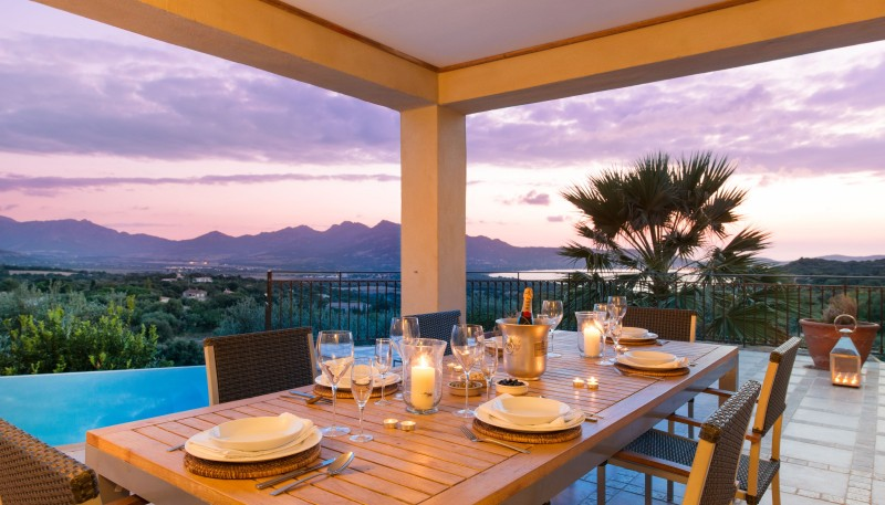 Calvi Luxury Rental Villa Diademe Royal Terrace 2