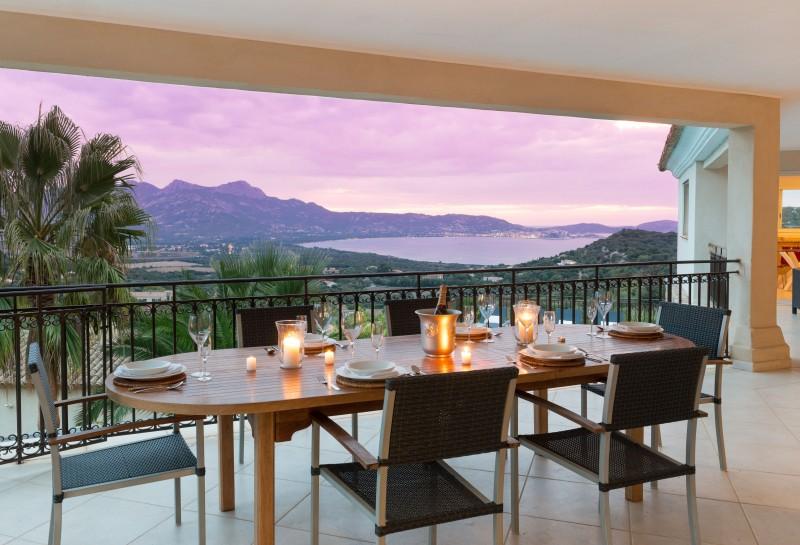 Calvi Location Villa Luxe Diademe Terrasse 3
