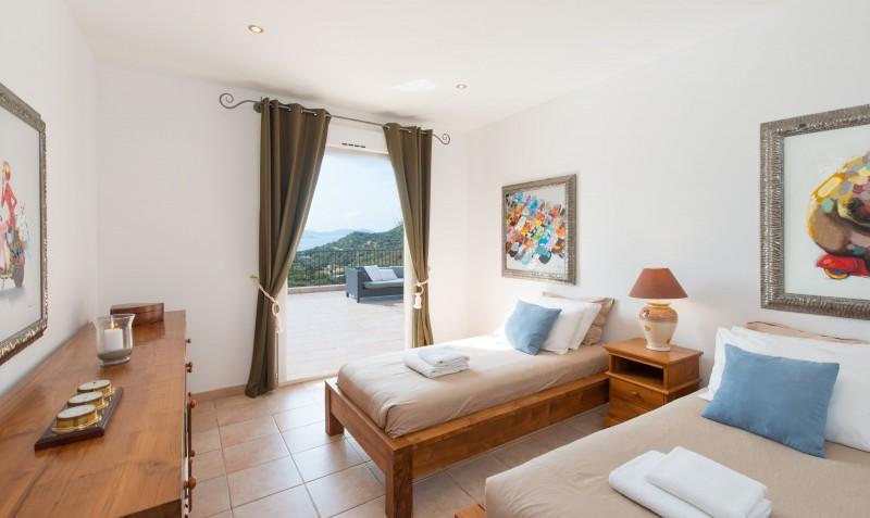 Calvi Luxury Rental Villa Doste Bedroom 2