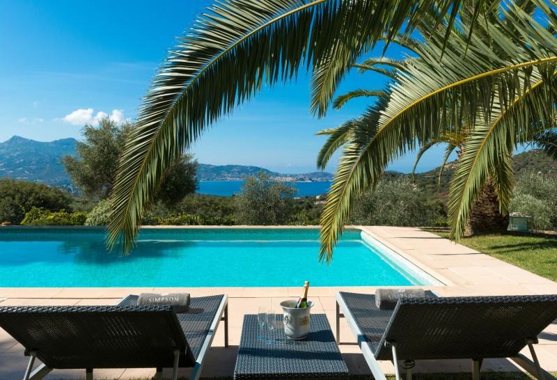 Calvi Location Villa Luxe Doste Piscine 2