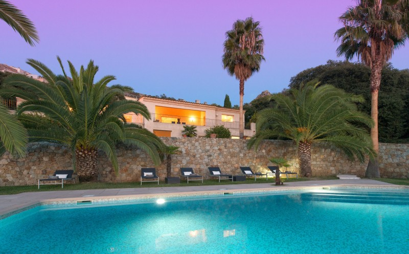 Calvi Luxury Rental Villa Doste Pool 5