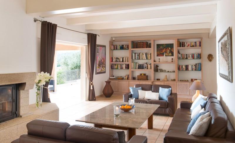 Calvi Luxury Rental Villa Doste Living Area 3