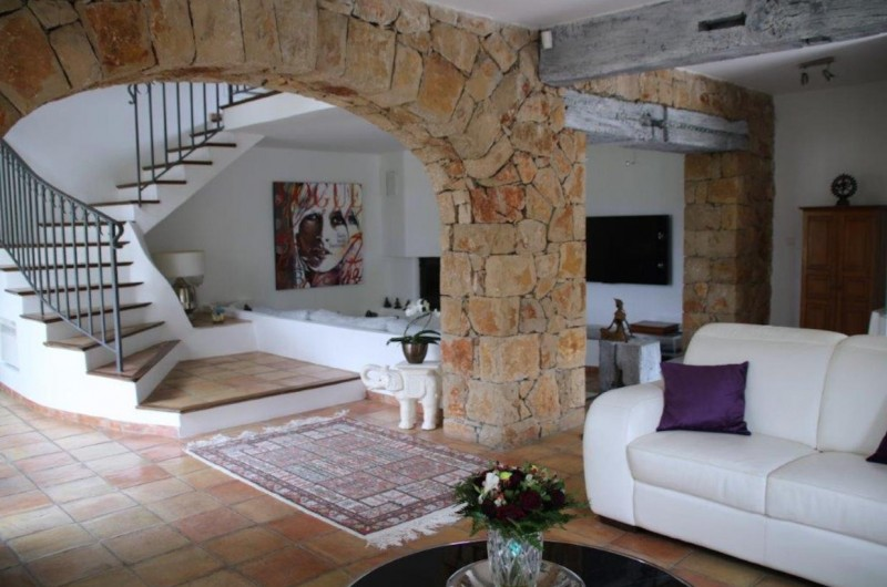Cannes Luxury Rental Villa Calendula Living Room 4