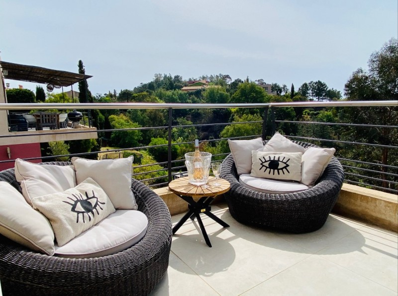 Cannes Luxury Rental Villa Colicotome Terrace 2