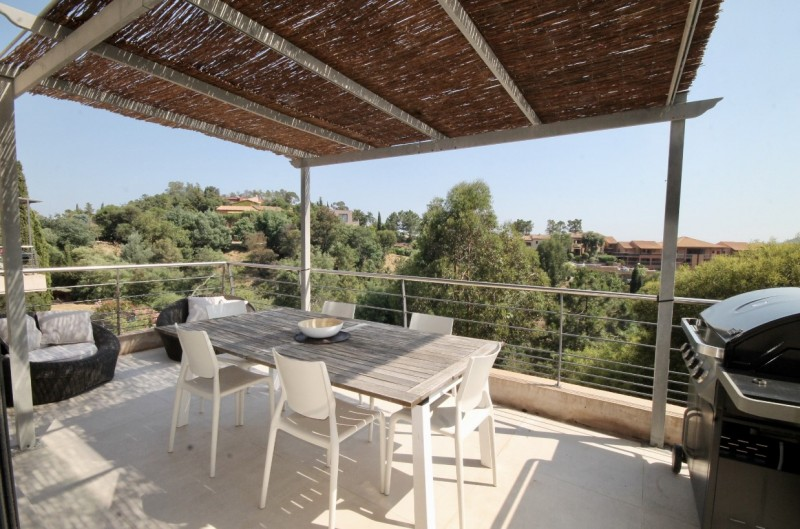 Cannes Luxury Rental Villa Colicotome Terrace