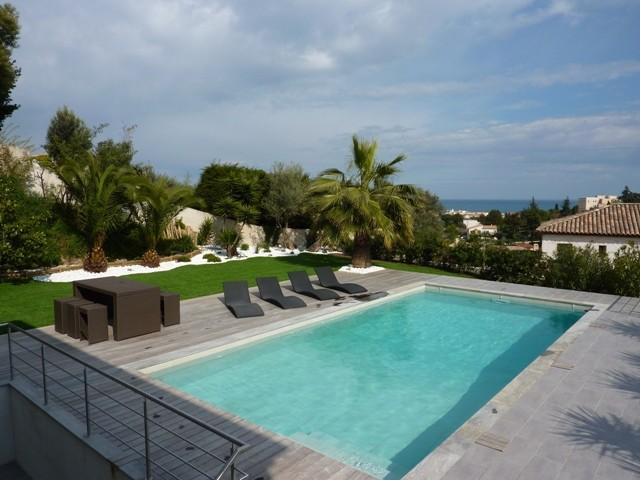 Cannes Location Villa Luxe Coquelourde Piscine