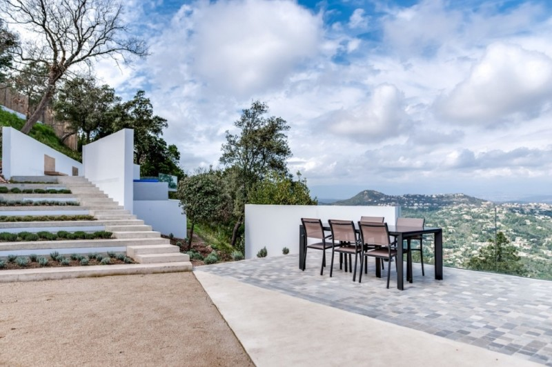 Cannes Luxury Rental Villa Cordierite Terrace 2