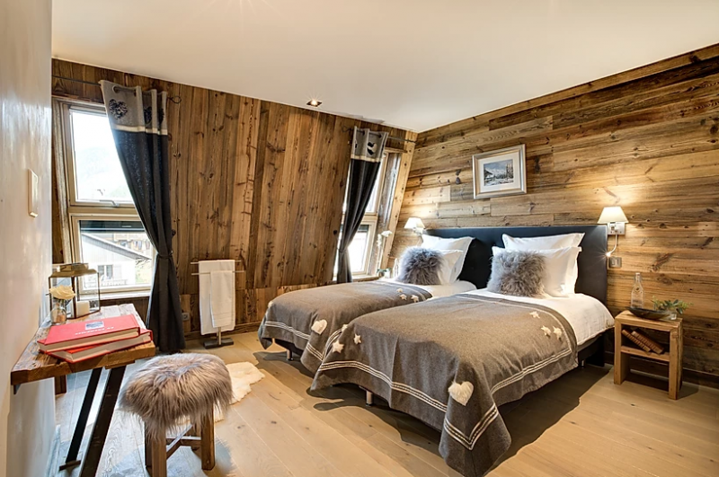 Chamonix Location Appartement Luxe Courase Chambre 5