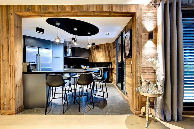 Chamonix Location Appartement Luxe Courase Cuisine
