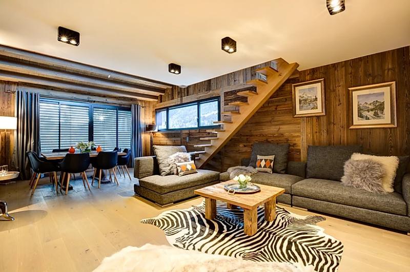 Chamonix Location Appartement Luxe Courase Séjour 3