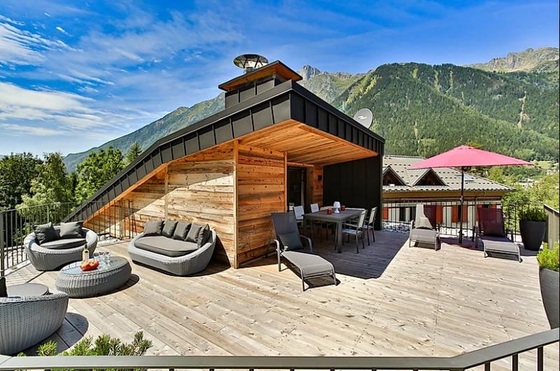 Chamonix Location Appartement Luxe Courase Terrasse 2