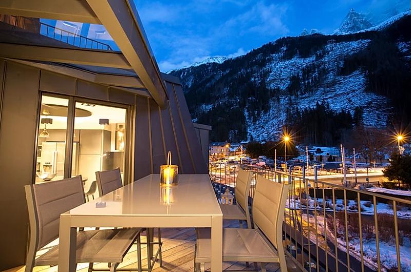 Chamonix Location Appartement Luxe Courase Terrasse 4