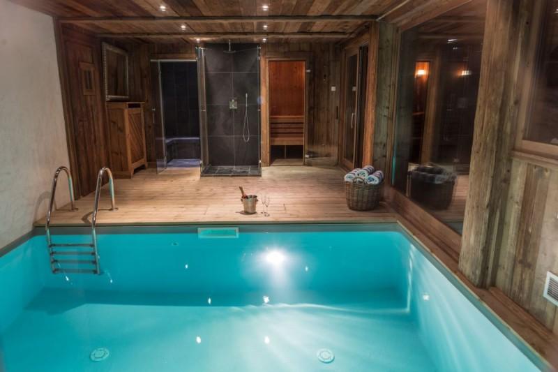 Chamonix Location Chalet Luxe Aconit Piscine