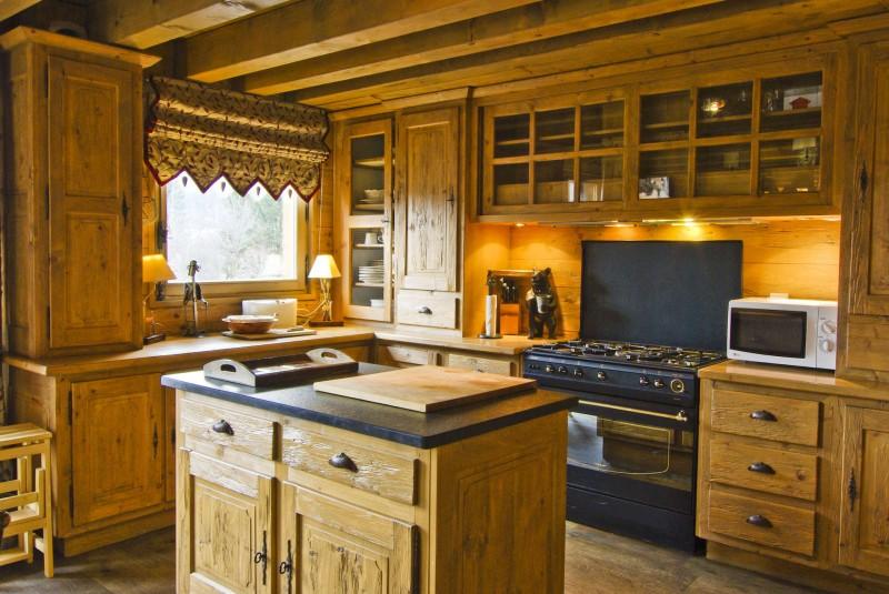 Chamonix Location Chalet Luxe Collinsite Cuisine