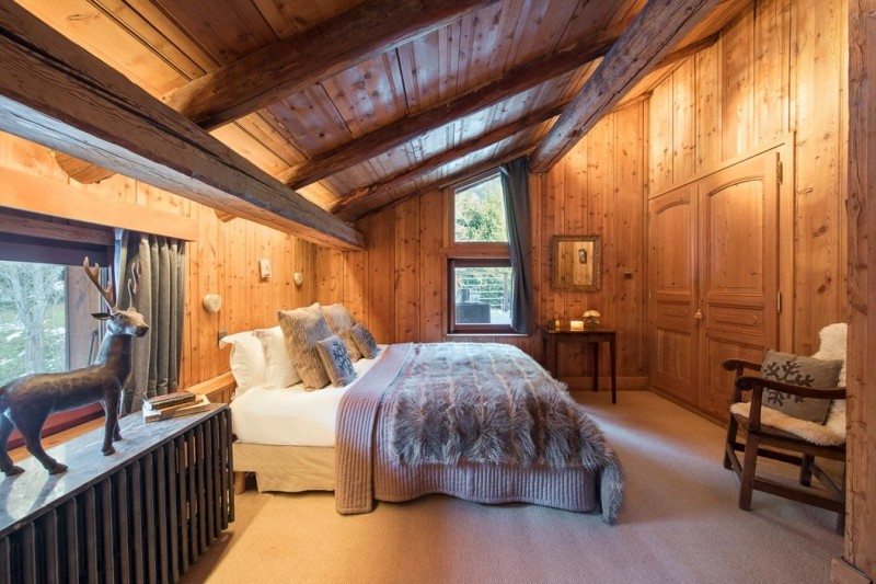 Chamonix Luxury Rental Chalet Coquelois Bedroom 3