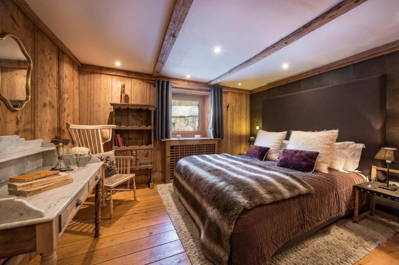 Chamonix Luxury Rental Chalet Coquelois Bedroom 4
