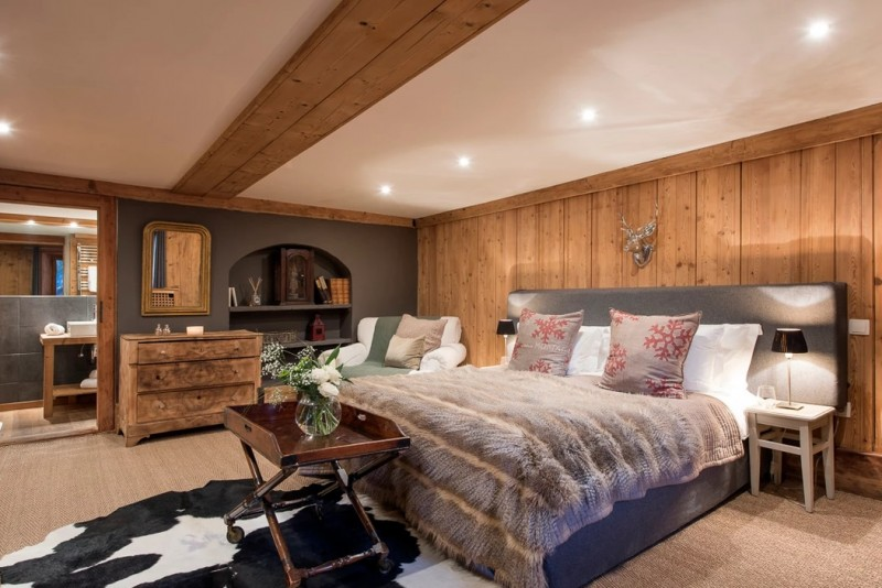 Chamonix Luxury Rental Chalet Coquelois Bedroom 5