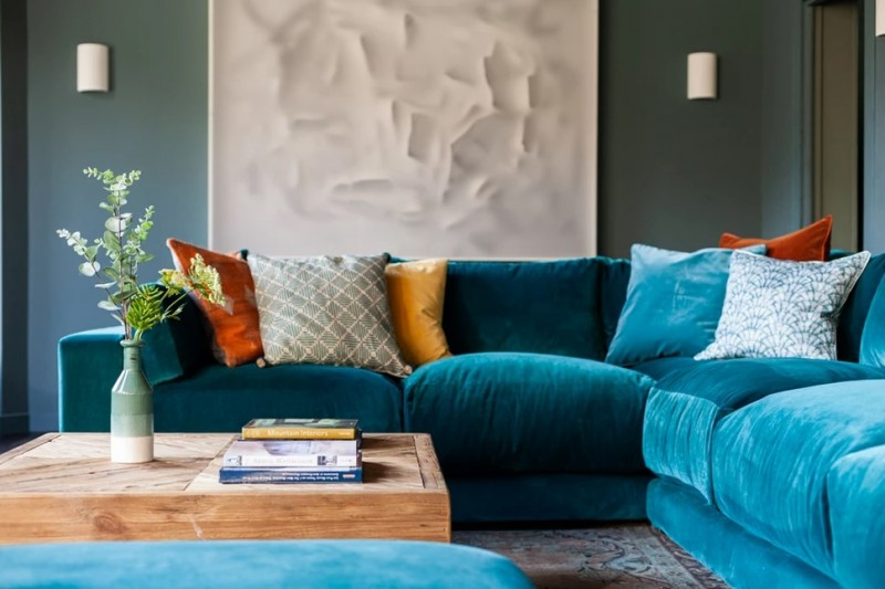 Chamonix Luxury Rental Chalet Coradu Sofa