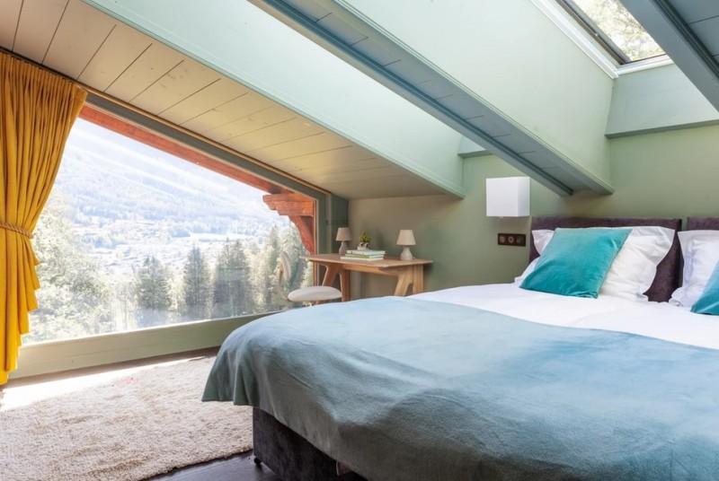 Chamonix Luxury Rental Chalet Coradu Bedroom 2