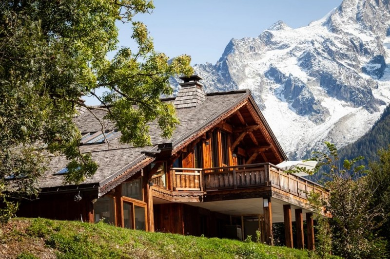 Chamonix Luxury Rental Chalet Coradu Exterior