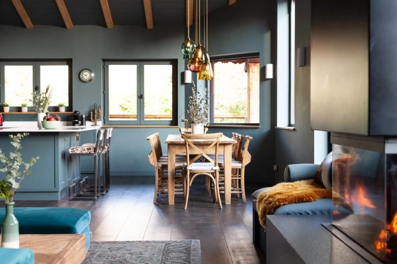 Chamonix Luxury Rental Chalet Coradu Dining Room