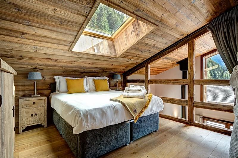 Chamonix Luxury Rental Chalet Coraudin Bedroom 3