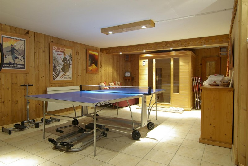 Chamonix Location Chalet Luxe Corencite Ping Pong