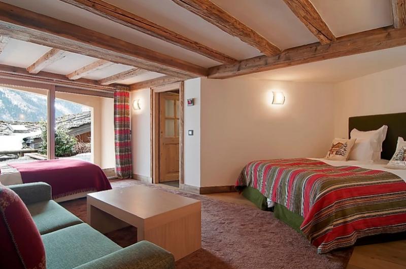 Chamonix Location Chalet Luxe Corise Chambre