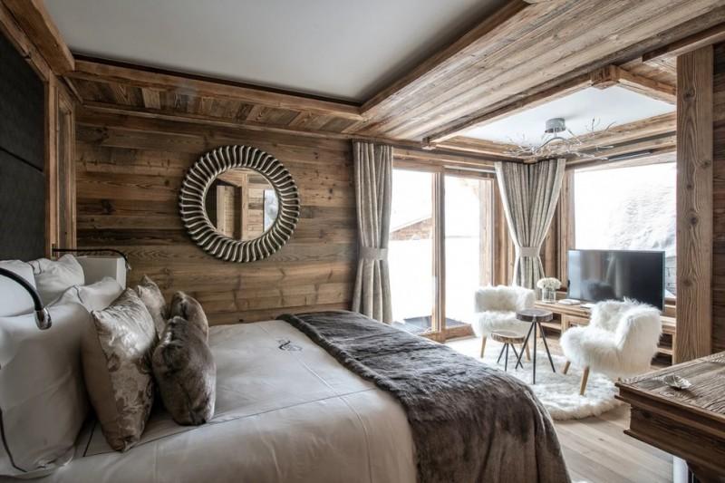 Chamonix Luxury Rental Chalet Cornite Bedroom 3