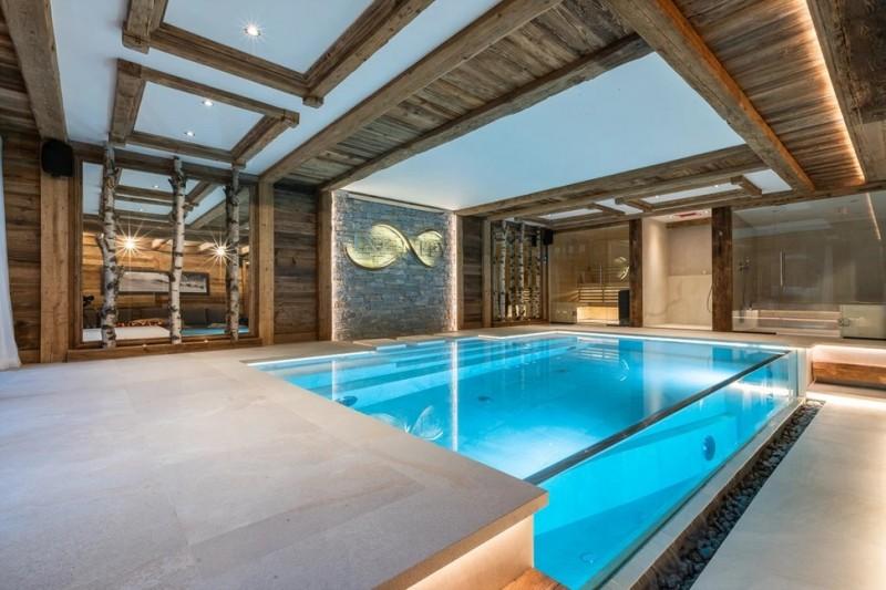 Chamonix Luxury Rental Chalet Cornite Pool