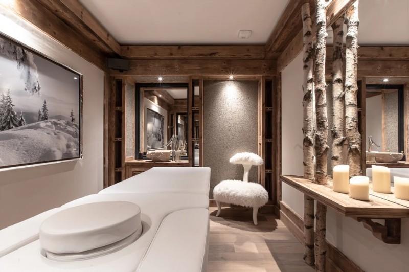 Chamonix Luxury Rental Chalet Cornite Massage Room