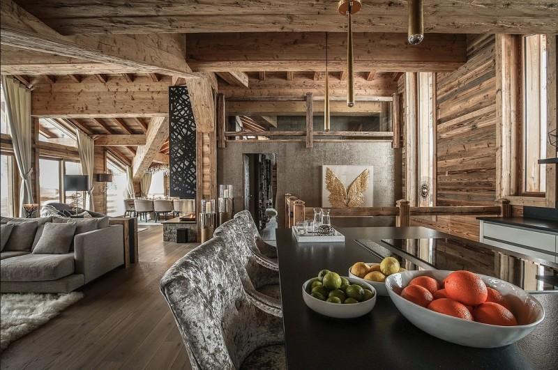 Chamonix Luxury Rental Chalet Cornite Living Area 2