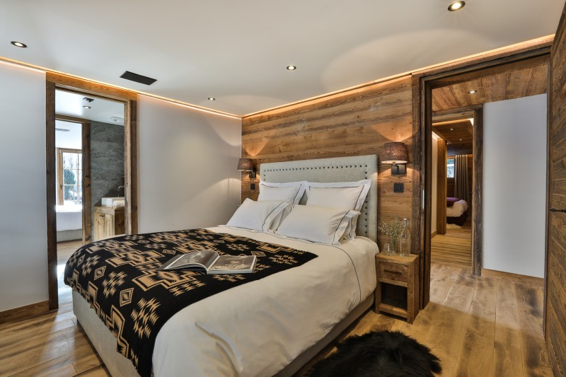 Chamonix Luxury Rental Chalet Coroudin Bedroom