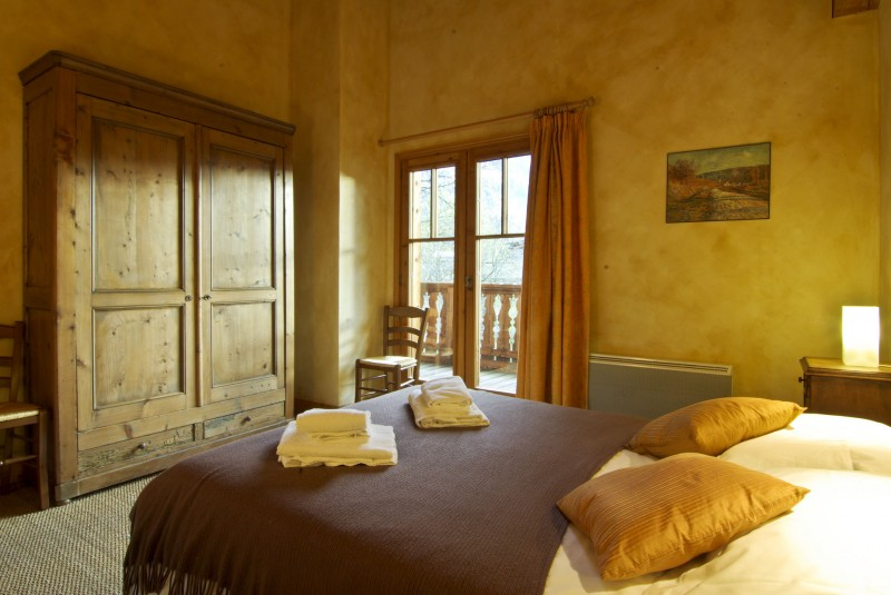 Chamonix Luxury Rental Chalet Corundite Bedroom