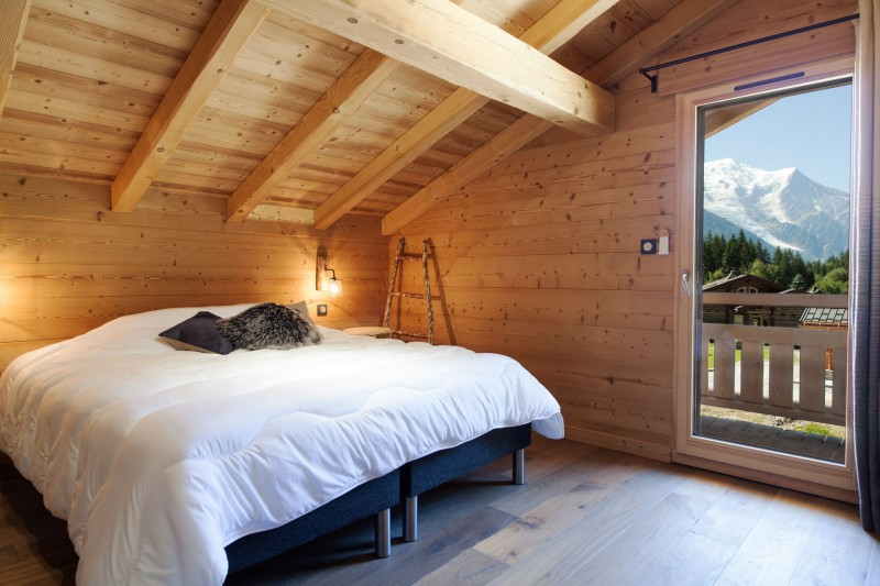 Chamonix Location Chalet Luxe Cristy Chambre