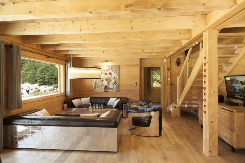 Chamonix Luxury Rental Chalet Cristy Living Area 2