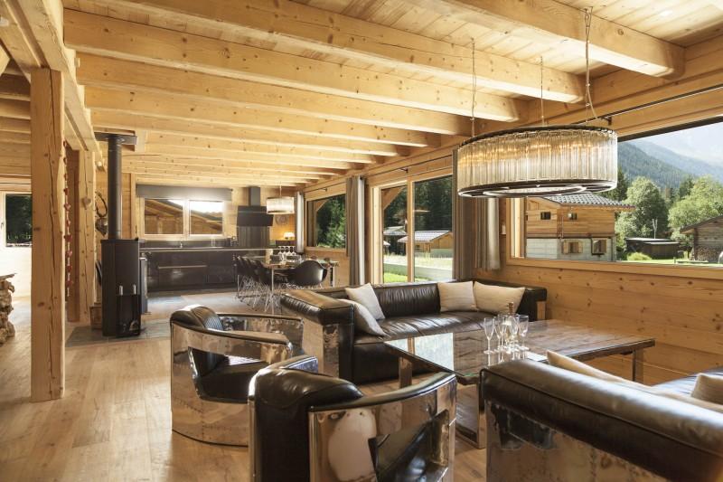 Chamonix Luxury Rental Chalet Cristy Living Area