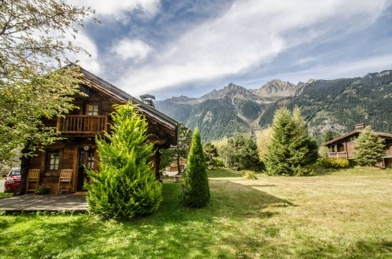 Chamonix Luxury Rental Chalet Crossite Garden